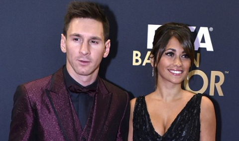 Number 2: Messi reveals he's going to be a dad again