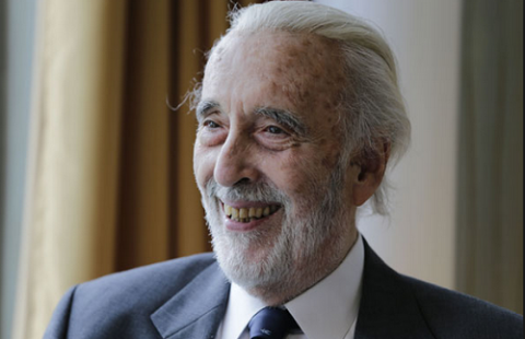 Acting Legend Sir Christopher Lee is Dead [Lord of the rings & Star wars]