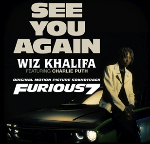 Wiz Khalifa See You Again featuring Charlie Puth