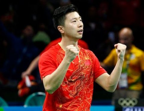 2016 Rio Olympic Games: China wins all medals in male singles table tennis
