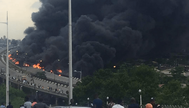 Otedola Bridge Fuel Tanker Accident