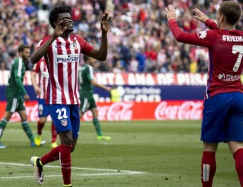 Ghana's Thomas Partey Reveals Atletico Madrid Best Player