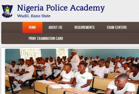 Nigeria Police Academy Form for 8th Regular Course Admission is Out